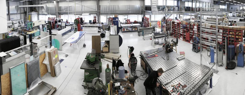 Metallbau Produktion Werkstatt